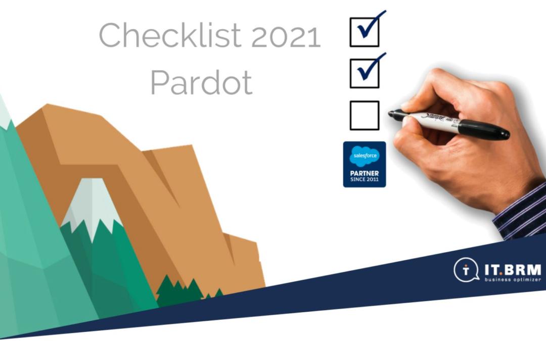 La Checklist 2021 pour bien démarrer son année Pardot !